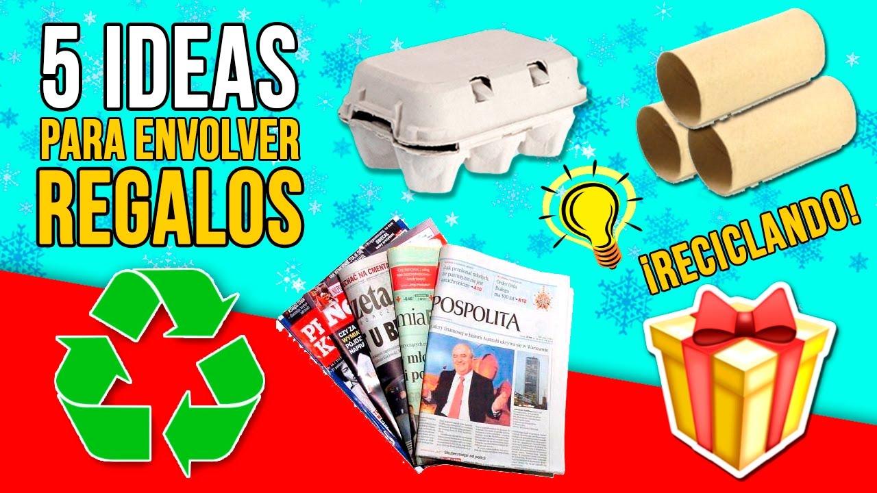 5 ideas originales para envolver regalos en Navidad Manualidades