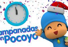 Celebrando las Campanadas de Fin de Año con Pocoyó y sus amigos.