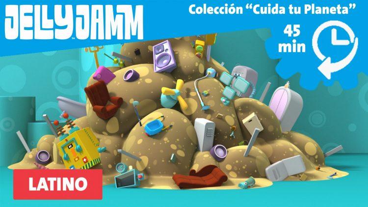 "Colección Jelly Jamm. Especial Episodios ""Cuida tu Planeta"". Latino."
