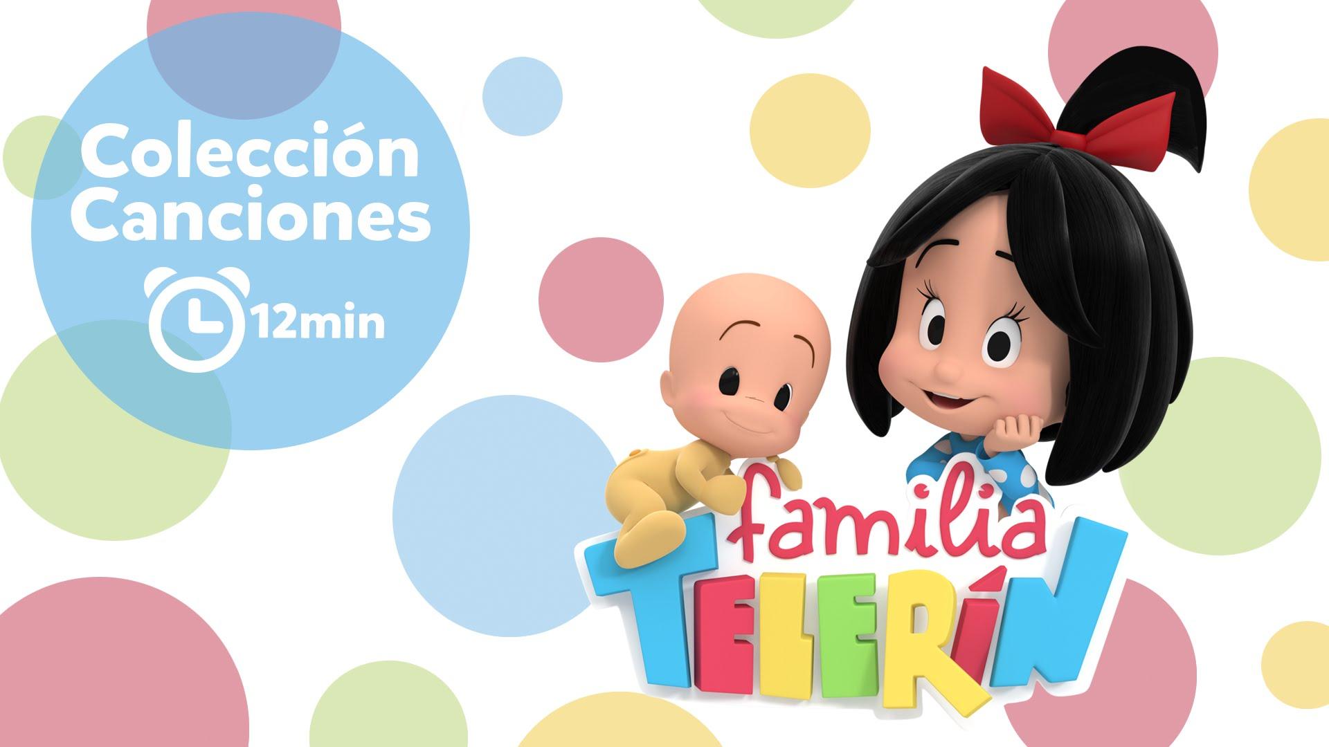 Familia Telerín. Colección de Canciones infantiles ...