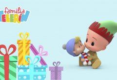 Familia Telerin. Jingle Bells. Villancico Navidad.
