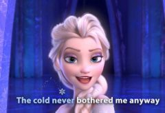 Frozen – Let it Go / English