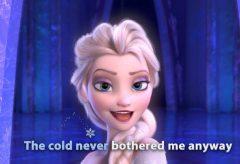 Frozen – Let it Go / English