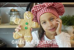 Galletas de jengibre – Recetas para hacer con niños y niñas