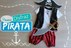 Disfraz de Pirata / Carnaval para niñas y niños