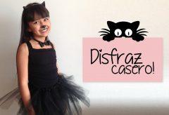 Disfraz felino muy fácil / Carnaval para niñas y niños