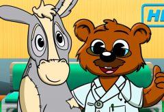 A mi burro le duele la cabeza – Canciones para niñas y niños