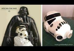 Cómo hacer una máscara de clon de Star Wars. Disfraces caseros.