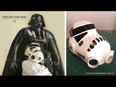 C mo hacer una m scara de clon de star wars disfraces - Como hacer una mascara ...