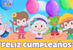 Feliz cumpleaños – Canciones Infantiles