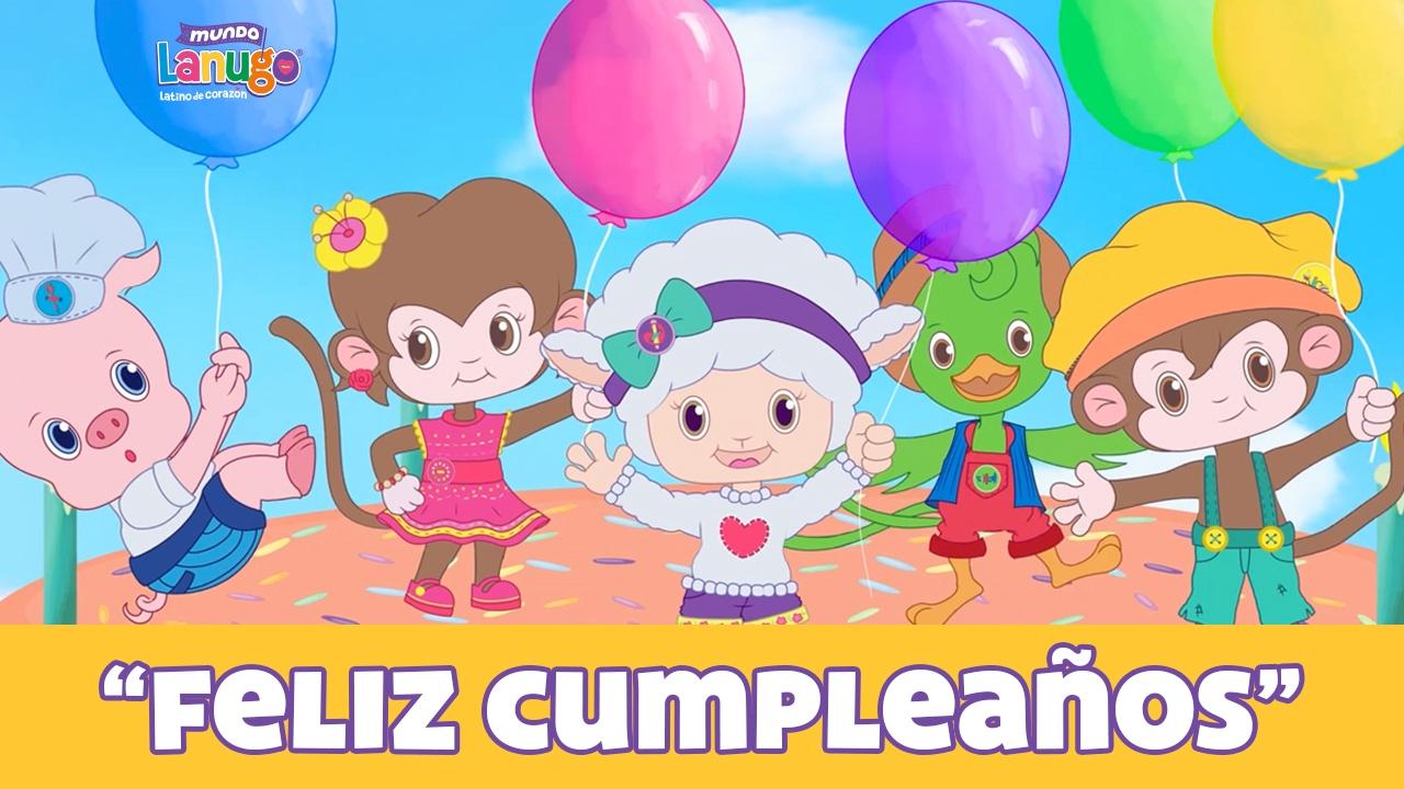 Feliz cumplea os canciones infantiles dibujos animados - Feliz cumpleanos infantil animado ...