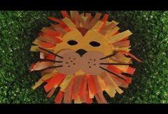 Máscara de león para tu disfraz en Carnaval