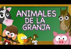 Animales de granja en inglés / Inglés para niñas y niños con Mr. Pea