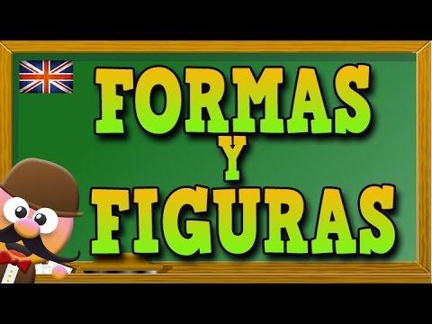Formas y figuras en inglés / Inglés para niñas y niños con Mr. Pea