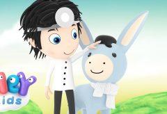 A mi burro le duele la cabeza y otras canciones para niñas y niños / Hey Kids