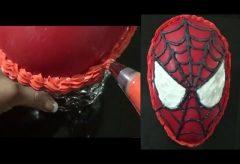 Cómo hacer un huevo de Pascua con la máscara del Hombre Araña – Spiderman