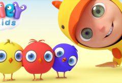 Los pollitos dicen pio, pio, pio y más canciones infantiles / Hey Kids