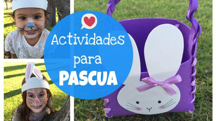 Manualidades para niños y niñas en Pascua
