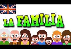 Aprende el vocabulario de la familia en inglés con Mr. Pea