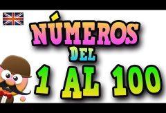 Los números en inglés del 1 al 100 con Mr. Pea