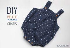 Cómo hacer un pelele para bebé – Vídeos DIY ropa de bebé