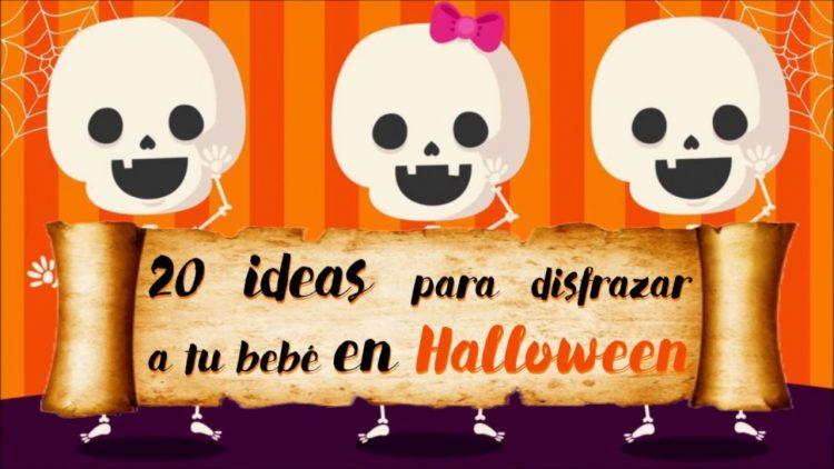20 ideas en disfraces para tu bebé en Halloween