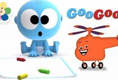 Aprende con Googoo / El helicóptero / Aprendiendo los vehículos