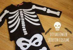 Cómo hacer un disfraz de esqueleto – Skeleton Costume – DIY