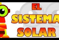 El sistema solar / Aprende con Edu, el robot