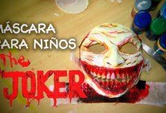 Hacer una máscara de joker para niños en Halloween – DIY