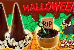 3 recetas dulces para Halloween con chocolate