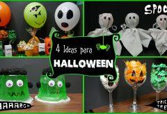 4 manualidades sencillas para Halloween
