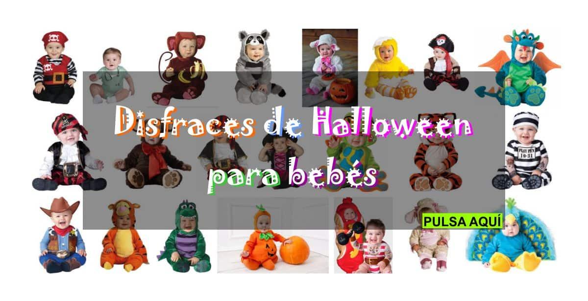 Disfraces infantiles y para bebés en fiesta de Halloween 2017