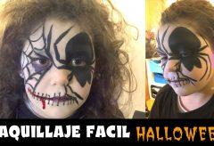 Maquillaje fácil infantil para Halloween