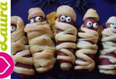 Momias de salchicas de pavo / Recetas para Halloween