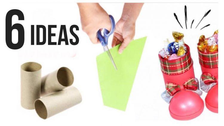6 ideas de reciclaje para Navidad / Manualidades en Navidad