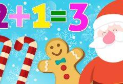 Aprende a sumar en Navidad – Matemáticas para niños