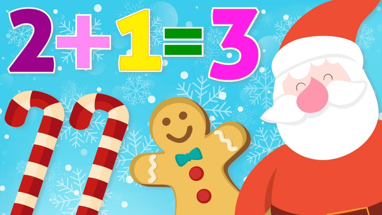 Aprende A Sumar En Navidad Matematicas Para Ninos Ninas Y Ninos
