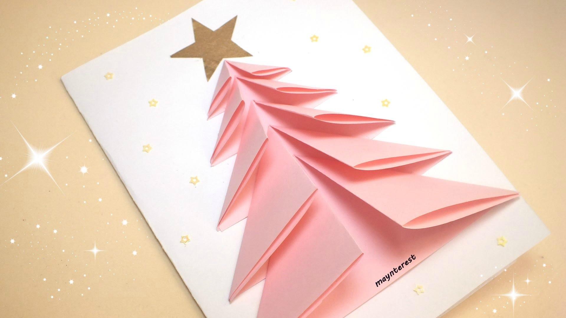 Como Hacer Una Bonita Tarjeta De Felicitacion Navidena - Manualidades-de-tarjetas-de-navidad