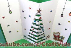 Haz tu propia tarjeta de felicitad para Navidad / Manualidades en Navidad