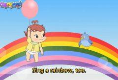 I can sing a rainbow  /  Canciones infantiles en inglés