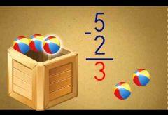 La resta para niños – Aprende matemáticas