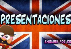 Saludos y despedidas en inglés. Inglés para niñas y niños con Mr Pea