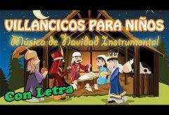 Villancicos navideños en inglés para niños con letra