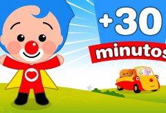 30 Minutos de Capítulos y Canciones de Plim Plim | El Reino Infantil